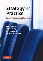 Strategy as Practice Handbook