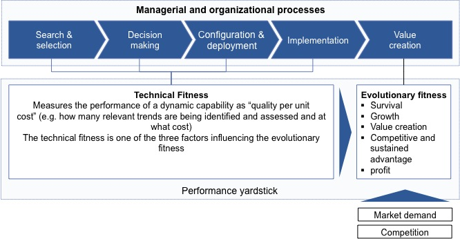 Measuring the effectiveness of Dynamic Capabilities