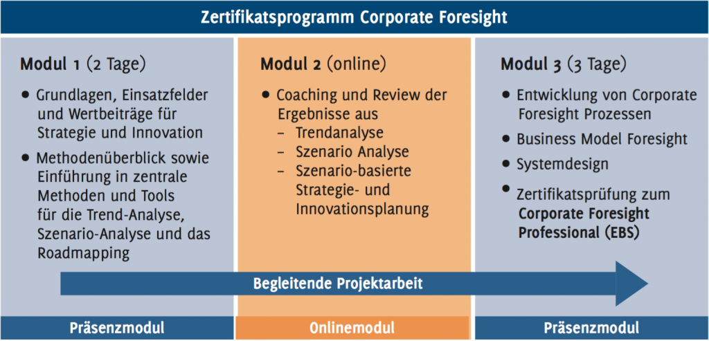 Programmübersicht - Corporate Foresight